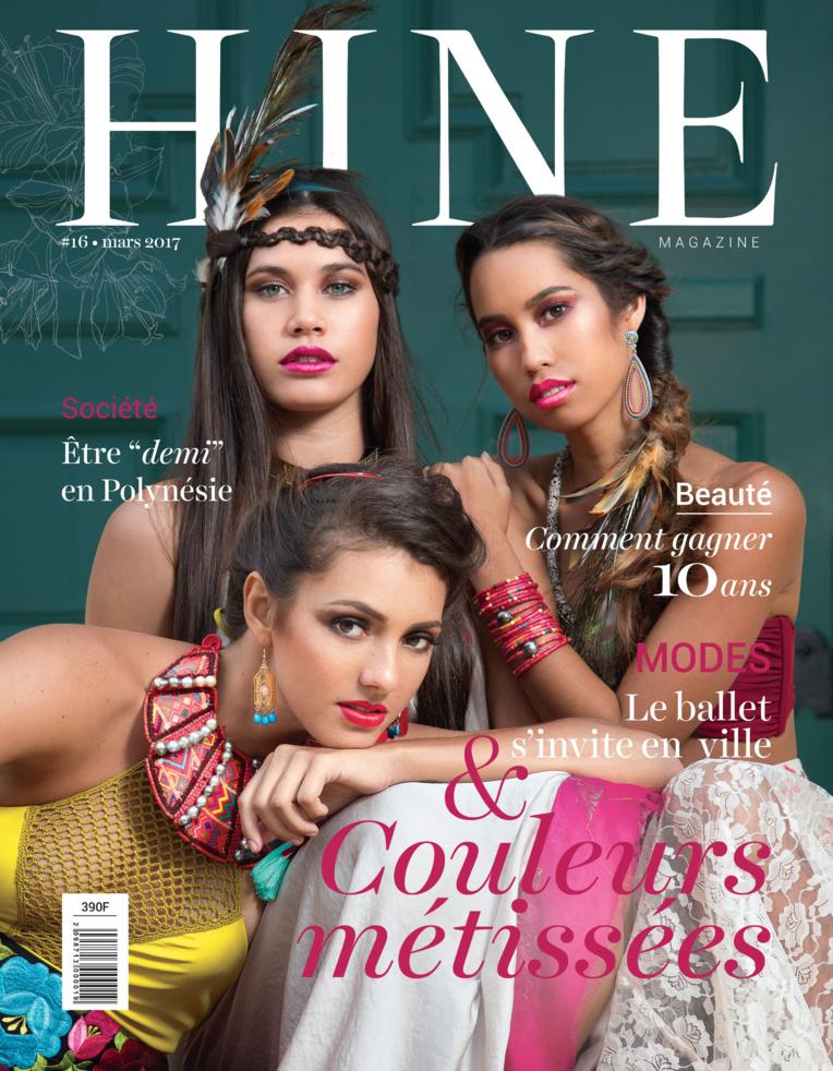 Ravahere et Hereata, qui ont fait la Une de Hine en mars dernier, seront vos modèles pour le shooting photo organisé par le magazine féminin.