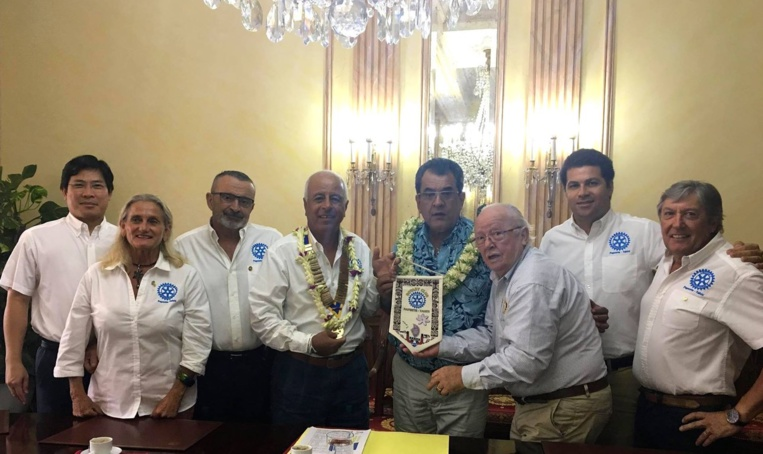 Fritch reçoit le Rotary