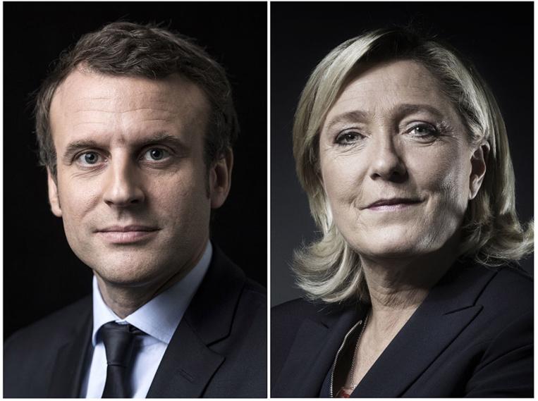Présidentielle: duel Macron-Le Pen au second tour (estimations)