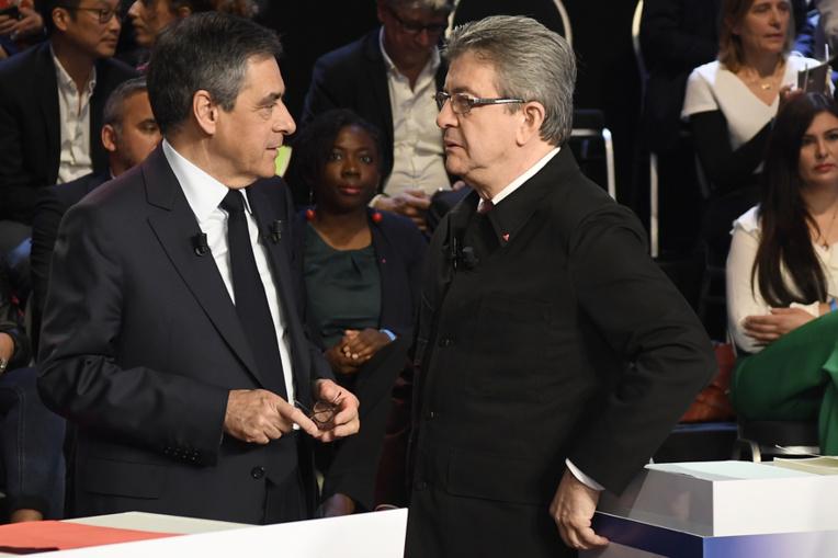 Guyane pour Mélenchon, Nouvelle-Calédonie pour Fillon, Guadeloupe pour Macron