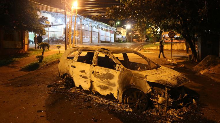 Casse au Paraguay: huit suspects arrêtés