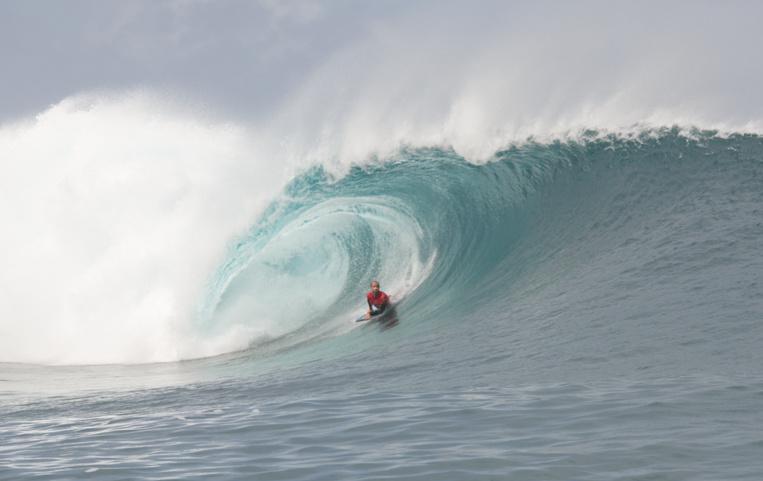 Le Tahitien d'adoption Ryan Gallina a obtenu un très bon résultat