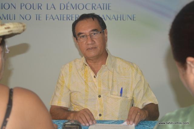 """""""Si tout le monde se tait, ces pratiques ne vont pas cesser"""", déclare Antony Géros, élu UPLD à Paea."""