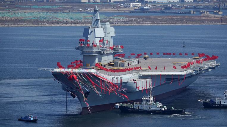 La Chine lance un 2e porte-avions à l'appui de sa puissance