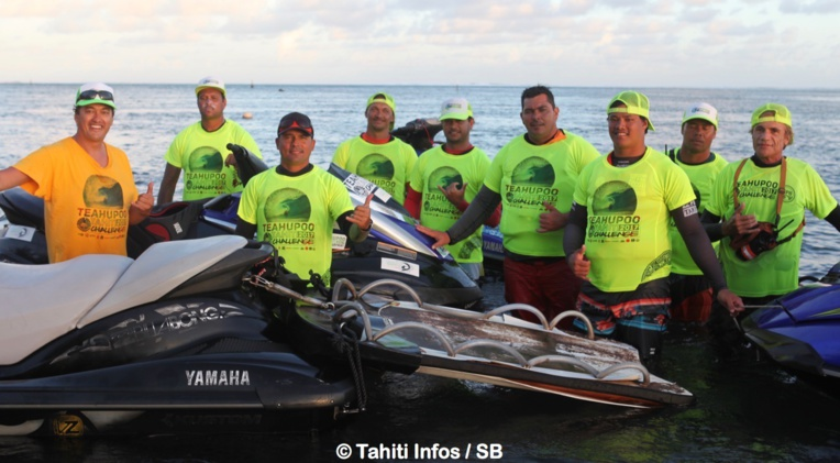 Le team des Water Patrol