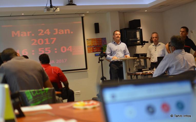 Cette première réunion du Retex Club était consacrée à l'exercice CyberFenua du 20 janvier dernier (en photo), qui a simulé une grosse attaque informatique contre la Polynésie. Le succès de cet exercice a abouti à la création du Retex Club par certain des professionnels qui avaient participé.