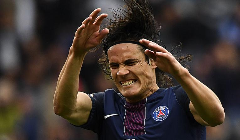 """Coupe de France - PSG: La """"Madjer"""" de Cavani pour fêter sa prolongation"""