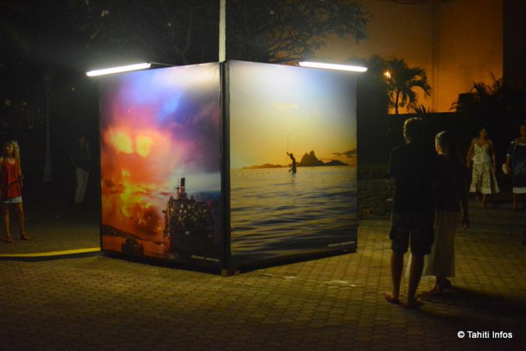 Les photographies illuminées prennent une autre dimension