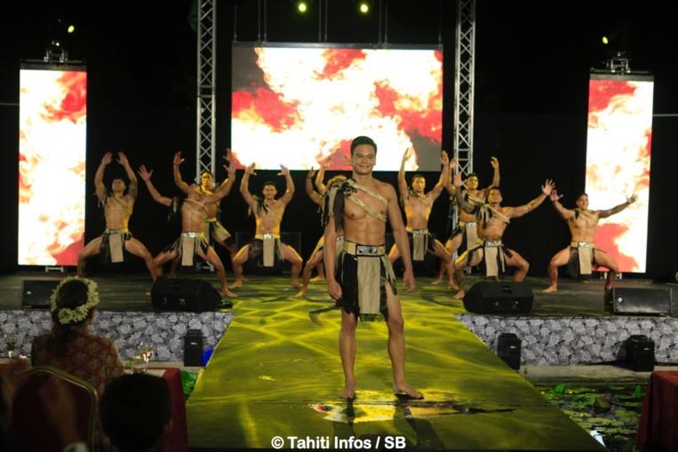 Soirée de Gala - Mister Tahiti 2017 est...Kevin Richmond, 25 ans
