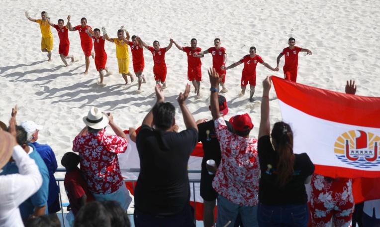 Encore un moment de joie intense offert par les Tiki Toa à la Polynésie