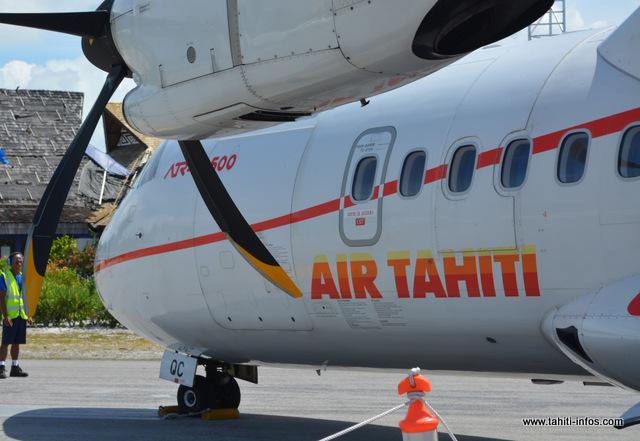 Rikitea : Le vol Air Tahiti fait demi-tour