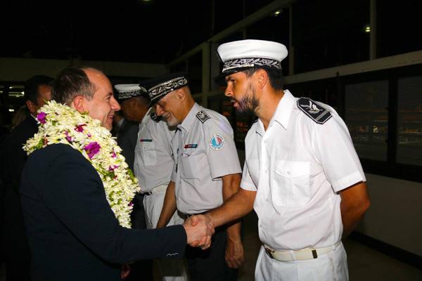 Jean-Jacques Urvoas, à l'occasion de son déplacement à Tahiti en mars dernier.