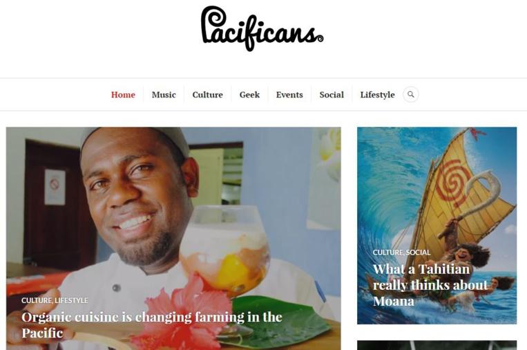 Le site Pacificans.com commence son voyage