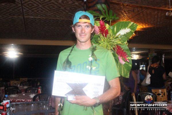Guillaume Peretti, vainqueur du trail