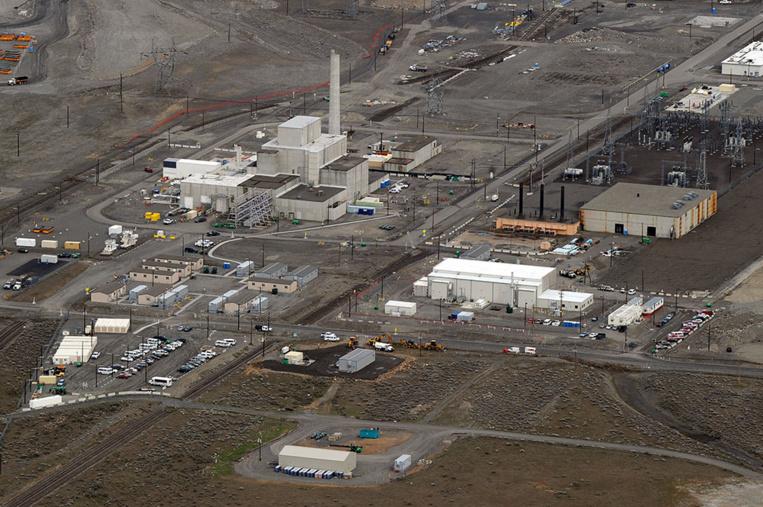 """Un tunnel s'effondre dans la """"poubelle"""" nucléaire des Etats-Unis"""