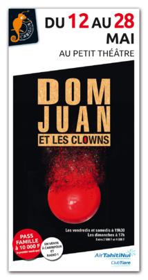 Le Dom Juan de Molière monte sur scène avec des clowns