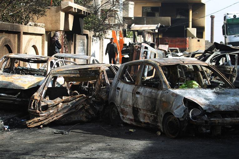 Les habitants de Mossoul, des boucliers humains enfermés chez eux par l'EI