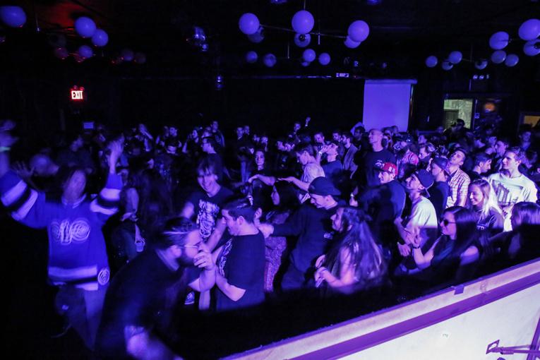 Tout pour la musique: New York expérimente les concerts dans le noir