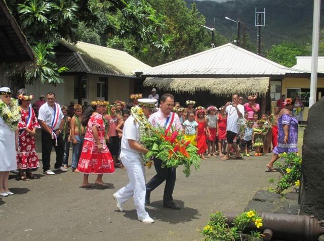 Teva Quesnot avait été renouvelé au poste de tavana hau des Marquises en juin 2013.
