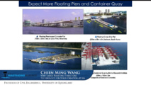 Le professeur Chien Ming Wang a présenté les gigantesques structures flottantes existant déjà