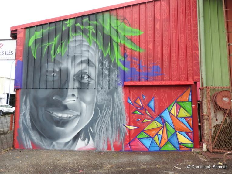 """Tahitian Street Art"" : un bel ouvrage dédié au graffiti"