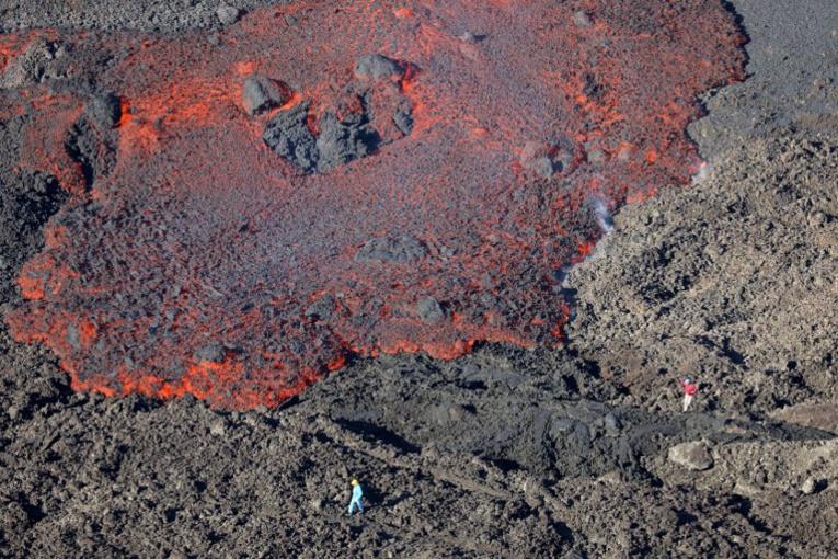 La Réunion: fin d'éruption au Piton de la Fournaise
