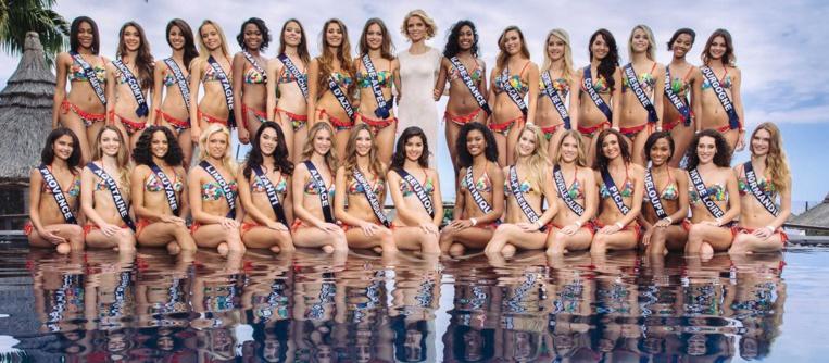 L'année dernière, les candidates avaient séjourné sur l'île de La Réunion pour leur voyage de préparation.