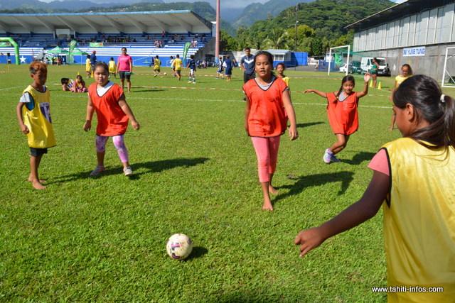200 enfants réunis autour du sport le temps d'une journée