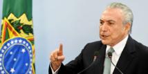 Brésil : le président Temer demande la suspension de l'enquête le visant
