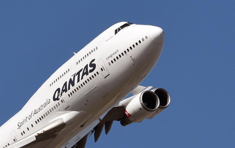 Un vol de Qantas fait demi-tour à cause d'un problème de moteur