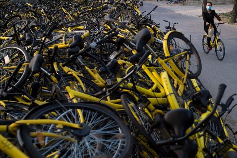 En Chine, le vélo partagé victime de son succès