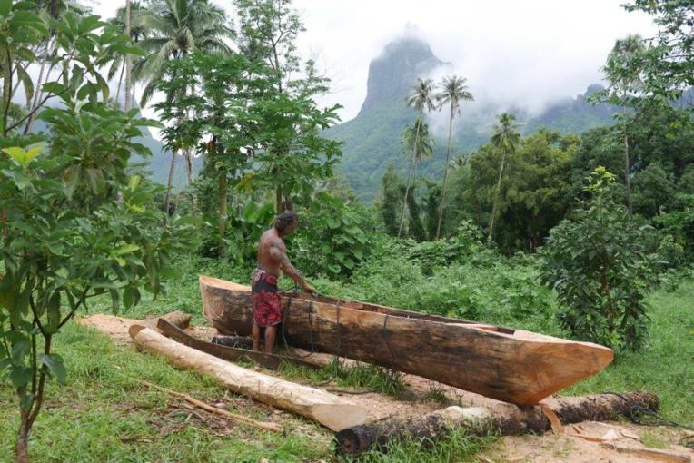 Ils relèvent le défi de construire une pirogue traditionnelle en 3 jours