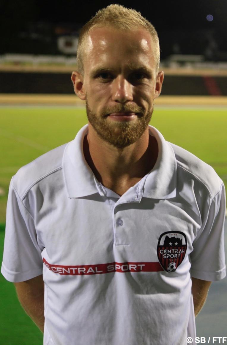 Cyril Klosek, le coach de Central