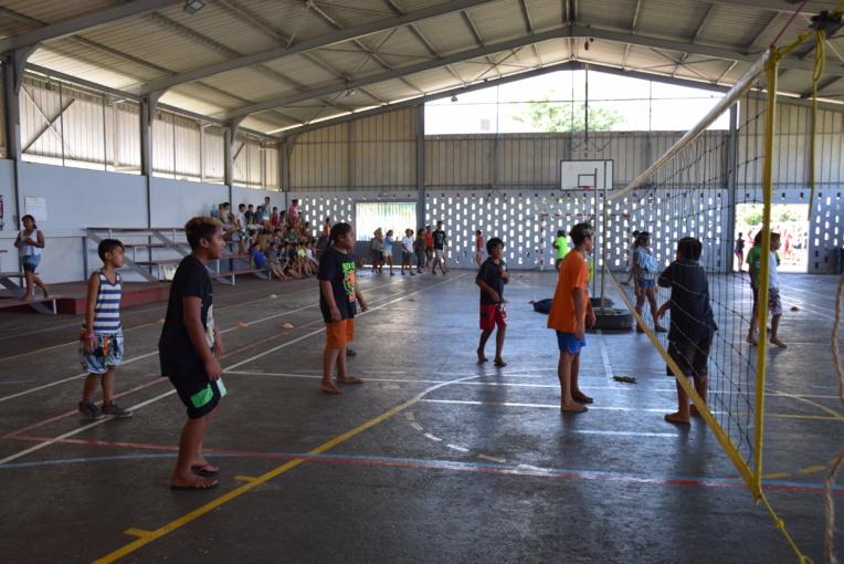 Faa'a à la recherche de ses futurs champion de volley-ball