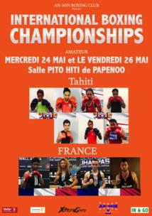 Boxe « International Boxing Championship » : Tahiti vs métropole à la salle de Pito Hiti de Papenoo