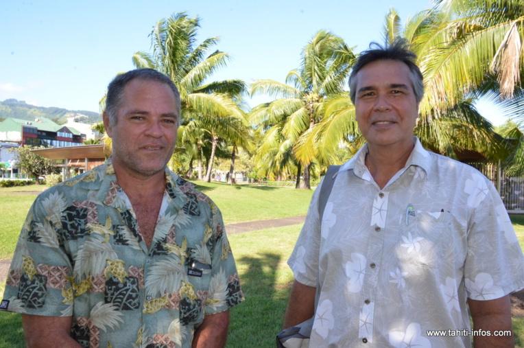 Karl Réguron et Tati Salmon se présentent sous les couleurs du parti écologiste Heiura-Les Verts sur la 1ère et la 2e circonscription législative de Polynésie française.