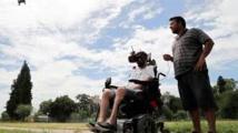 Voler à 150 km/h, le défi d'un tétraplégique en quête d'adrénaline