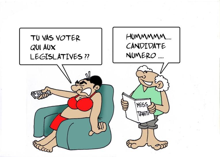""""""" Des législatives de charme """" par Munoz"""