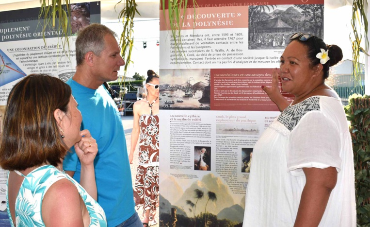 La Délégation présente pour la première fois au Festival polynésien en France