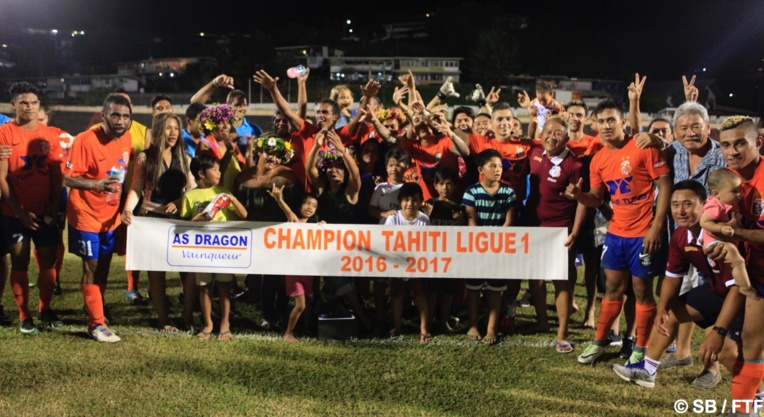 Dragon remporte le championnat 2016-2017