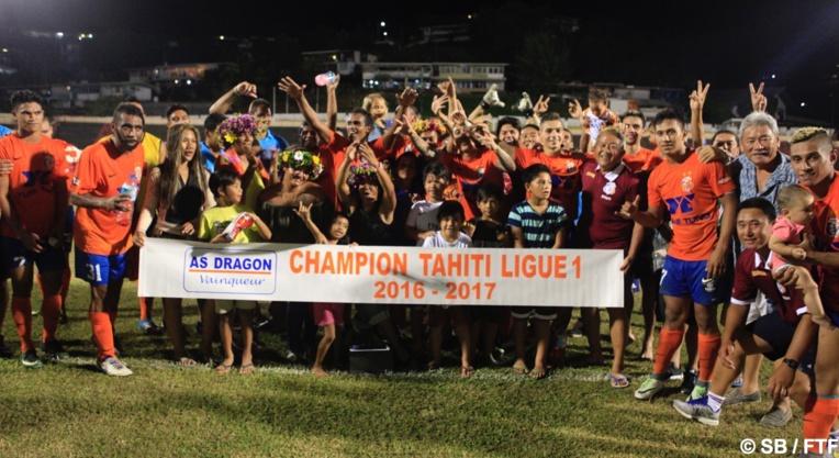 Dragon remporte le championnat 2016-2017