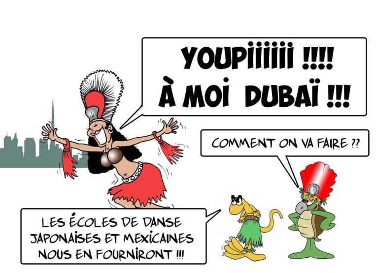 """"""" Le Heiva à Dubaï """" par Munoz"""
