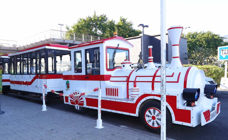 Changement de gare pour le petit train touristique