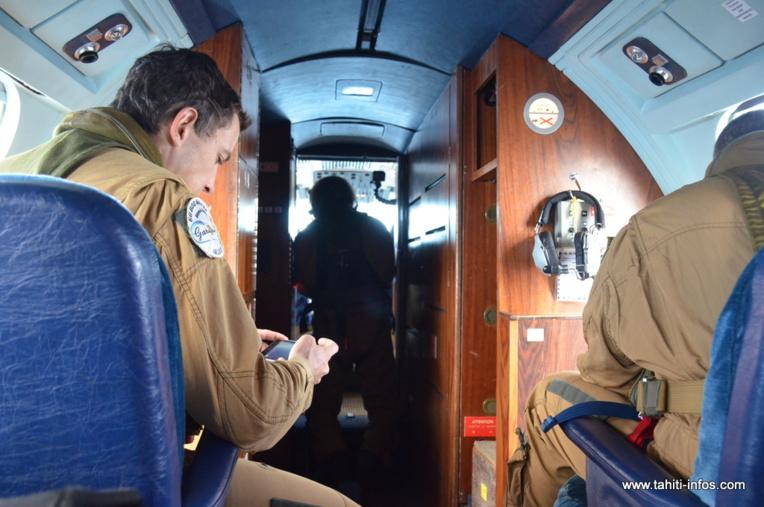 A bord, un équipage de 6 personnes.