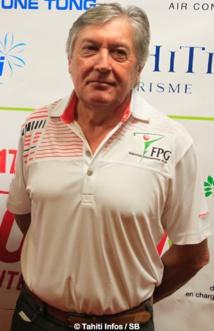 Louis Lesourd, secrétaire de la fédération polynésienne de golf