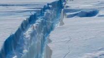 Un iceberg géant sur le point de se détacher en Antarctique