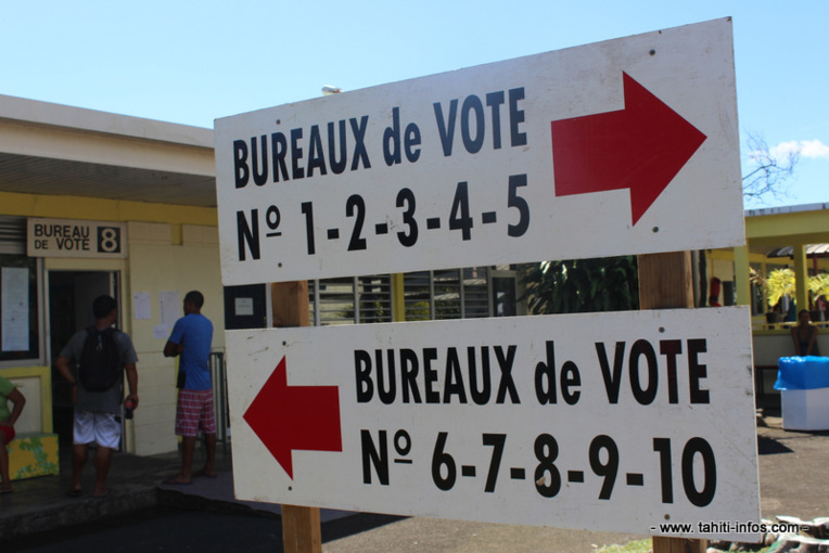 Elections législatives : où se trouvent les bureaux de vote à Tahiti?