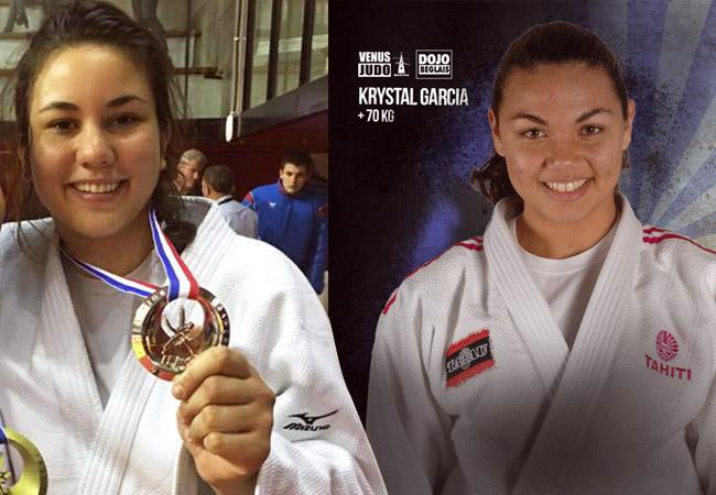 Rauhiti Vernaudon et Krystal Garcia