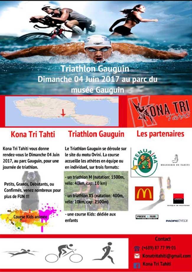 Triathlon – Le triathlon Gauguin c'est dimanche à Papeari