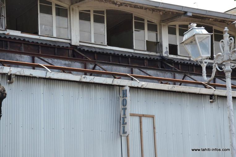 Nouvel appel d'offre pour la démolition du Royal Papeete
